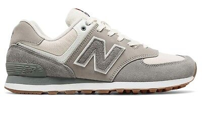299d1a4e2d2f6 NEW BALANCE MEN'S 574 Retro Sport Shoes Grey with Silver - Size 9US ...