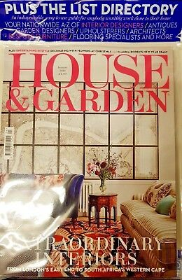 House And Garden Magazine January 2018 = Free List Directory