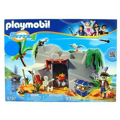 Playmobil Super4 Cueva Pirata