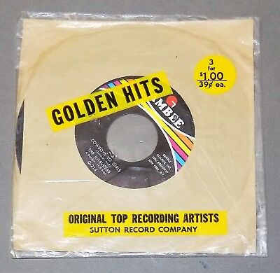 THE INTRUDERS Cowboys to Girls 1968 Gamble soul r&b SEALED 45 Golden Hits