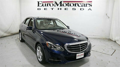 2016 Mercedes-Benz E-Class 4dr Sedan E 350 Sport 4MATIC mercedes benz e350 4matic 15 16 awd certified e350w4 blue navigation sedan