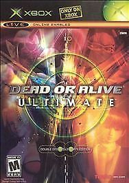 NEW Dead or Alive Ultimate video game for XBOX still SEALED! 2 disc edition