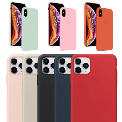 Premium Liquid Silicone Case For Apple iPhone XS Max XR XS X 8 Hard Shell Cover