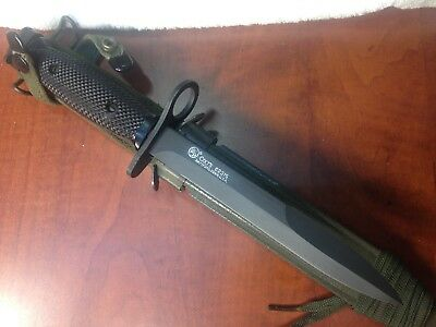 m7 colt bayonet with scabbard vietnam era EXCELLENT CONDITION NAM ERA MILITARY