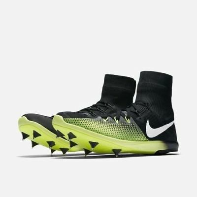 low priced 0b286 e6322 NEW Men s Nike Zoom Victory XC 4 Track And Field Spikes Black Size 11 878804 -