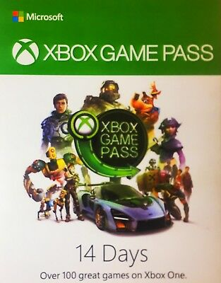 Xbox 14 Days Game Pass - Code Emailed After Purchase