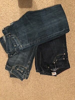 3 Pairs Of boys levi jeans