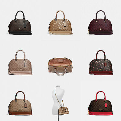 NWT Coach 2018Holiday Limited Edition Mini Sierra Signature Coated Canvas Series