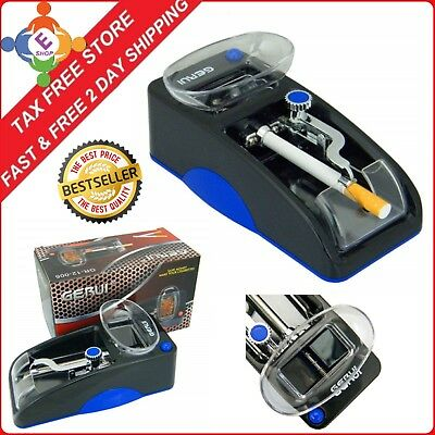 Powermatic 2 Ii + Electric Cigarette Rolling Machine  100 Mm Cigs