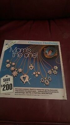 RARE Consumers Distributing Catalog Mother's Day 1985 in EX condition 24 pages