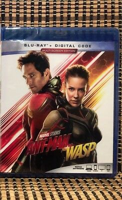 Ant-Man And The Wasp (Blu-ray, 2018)+Slipcover.Avenger/Marvel.Part2.Paul Rudd