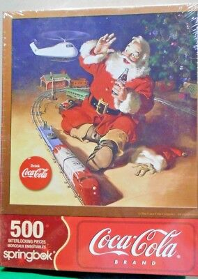 Coca-Cola Santa  500 pc. Puzzle    JOLLY JUNCTION