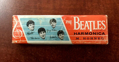 Vintage 1964 Beatles Hohner Harmonica, with the Original Box...Near Mint