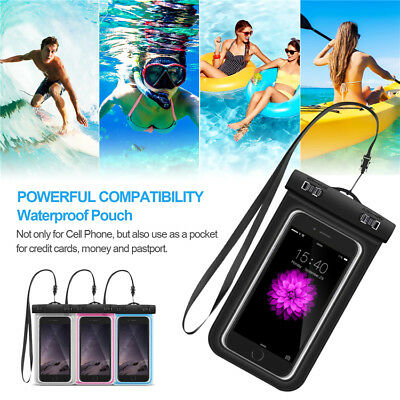 Waterproof Case Underwater Cover Dry Bag Pouch 4 Mobile Cell Phone | Universal