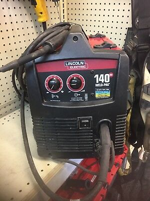 Lincoln 140 HD Weld Pak Wire Feed Welder