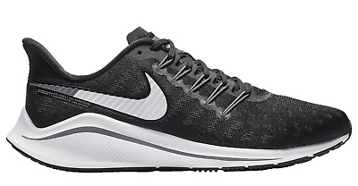 more photos be386 f65c6 New NIKE AIR ZOOM VOMERO 14 - H7857001 Black White Thunder Grey Running  Shoes