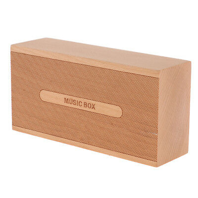 Retro Wooden Music Box - 4 Music for Choice - Musical Box Gifts Ornaments
