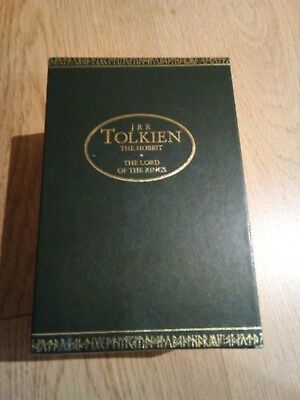 JRR Tolkien The Hobbit and Lord of the Rings paperback books