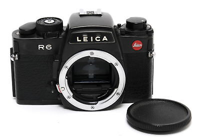 Leica R6 black body full working condition w. body cap