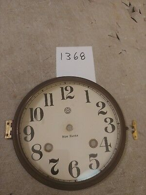 New Haven  Banjo Clock  Dial & Bezel With Glass,