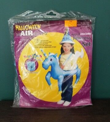 Toys'R'Us  Blow up Girls Kids Halloween Trick Or Treat Costume Unicorn Princess