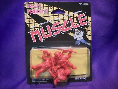 Iron Maiden Muscle Eddie Figures Trooper  Piece Of Mind  Killers  Red *New*