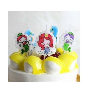 Mermaid Birthday Cake Candles Seahorse Birthday Cake Candles