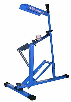 Baseball Pitching Machine Softball Ball Pitch Portable Batting Outdoor Sport New