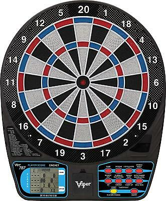 Viper Electronic Dartboard, Ultra Thin Spider Fewer Bounceouts Automatic Scoring