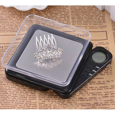 100g * 0.01g LCD Digital Pocket Scale Jewelry Gold Gram Balance Weight Scale