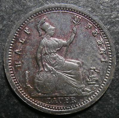Toy money - Half Penny by Lauer - copper halfpenny RR Rogers#423