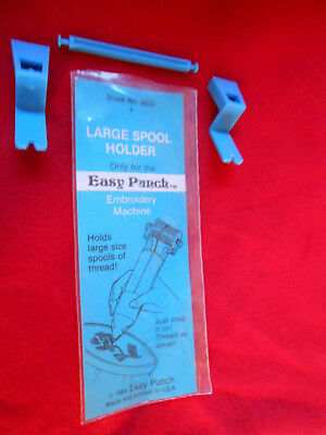 """Vintage 1984 Easy Punch """"Large Spool Holder"""" Accessory for Easy Punch Needle"""