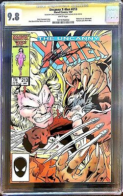 The Uncanny X-Men #213 CGC SS 9.8 signed by STAN LEE & CHRIS CLAREMONT