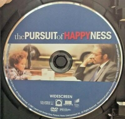 The Pursuit of Happyness (DVD, 2007, Widescreen) Disc Only! No case.