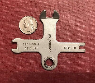 M-3 INFRARED CARBINE WRENCH TOOL HAVING 4 DIFFERENT TOOL FITTINGS • ORIG. 1950's