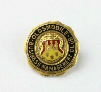 Oldsmobile Business Management Club Pin - Gold Filled