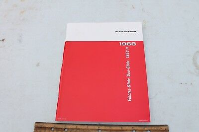NEW! Harley Davidson Parts Catalog 1958-1968 Electra-Glide/Duo-Glide Big Twin