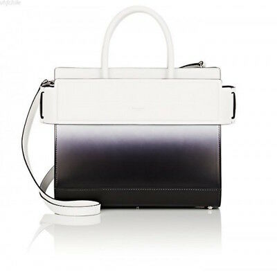b92a000856 NWT Givenchy Horizon Small Black White Gradient Shoulder Handle Satchel  Tote Bag