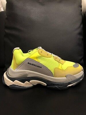 9179 Men's 23Picclick Balenciaga Trainers Size Grey WE9Yb2eDIH