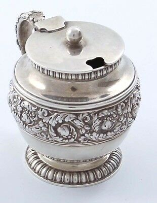 Fabulous Tiffany Sterling Mustard Pot Edward Moore