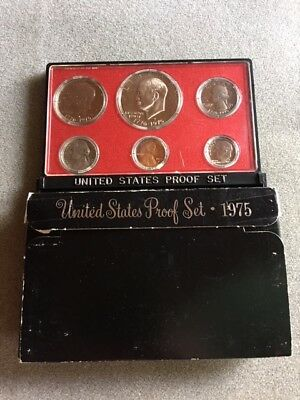 1975S US Mint Proof Coin Set