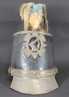 "Massachusetts Volunteer Militia ""Stovepipe"" Shako c1830s"