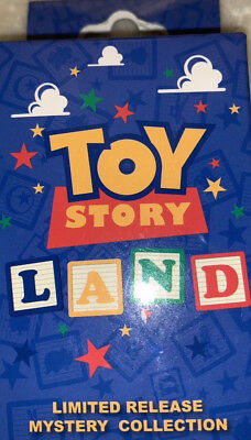 Disney Parks WDW Toy Story Land Blocks Limited Release 2 Pins Mystery Box Sealed