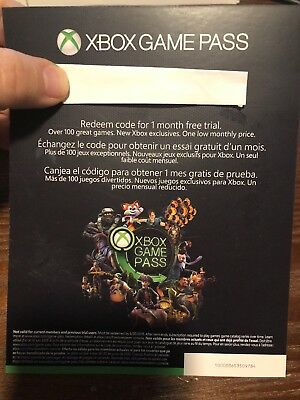 XBOX game pass 1 month (trial) PLUS XBOX live gold 14 Day ELECTRONIC DELIVERY!