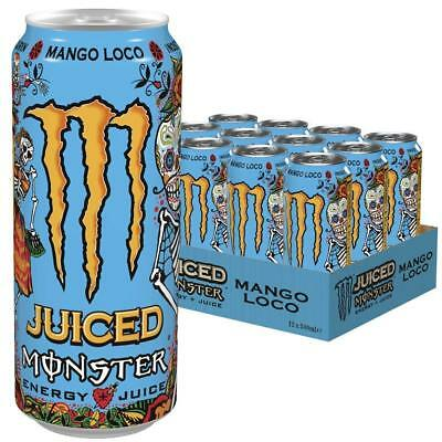 Monster Mango Loco 12er Pack (12 x 500 ml) Dose incl. DPG (4,67€/l)