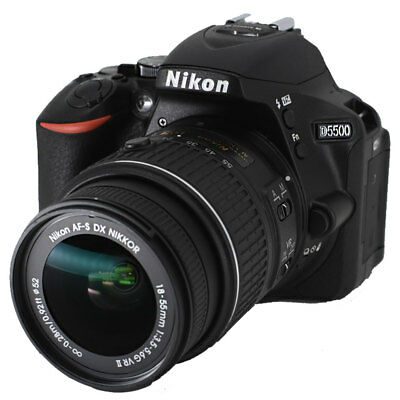 Nikon D5500 24.2MP DSLR Camera With 18-55mm VRII Lens (Black)Top Value Grab Deal