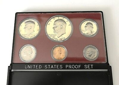 1975-S United States 6 Coin Proof Set, U.S. Mint Original Packaging