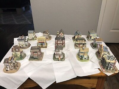 Liberty Falls Americana Village  Collection  & Figurine Pewter Collection 17 C.