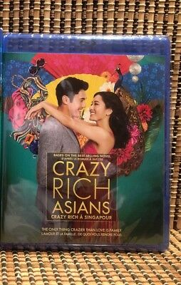 Crazy Rich Asians (2-Disc Blu-ray/DVD, 2018).Kevin Kwan.Constance Wu