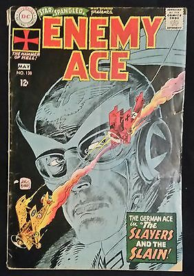 Star Spangled War Stories Enemy Ace # 138 -Dc Comics - May 1968